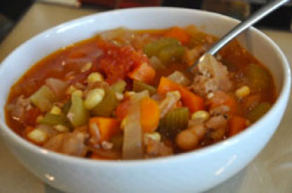 Turkey and Veggie Soup