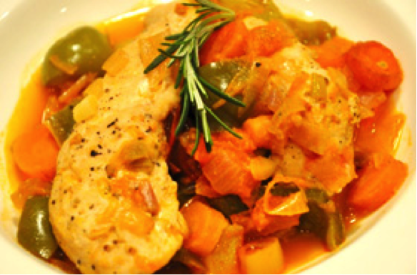 Paprika Chicken & Veggies