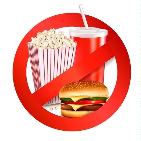No Eating Out Fast Food Be Fit Jc